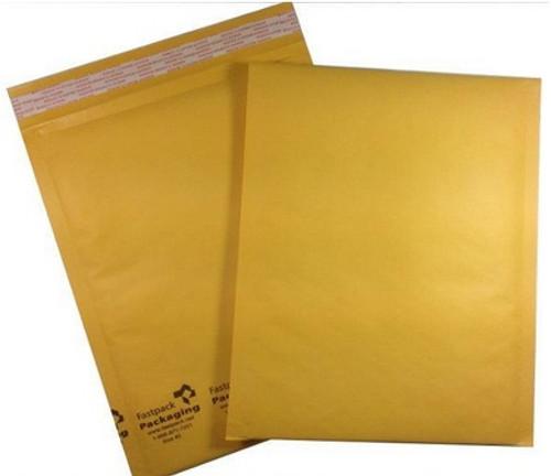 "8 1/2"" x 11"" Kraft Self Seal Bubble Mailer Envelope"