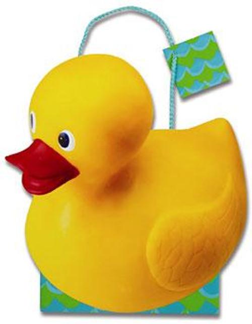 "10"" x 11"" x 4"" Rubber Duckie Medium Die Cut Gift Bag"