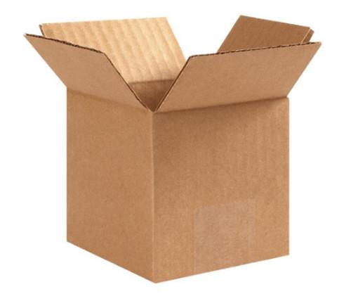 "3"" x 3"" x 3"" (ECT-32) Kraft Corrugated Cardboard Shipping Boxes"