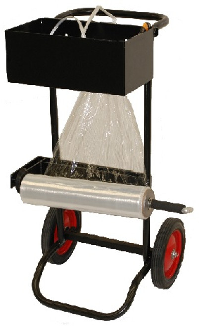 Stabilize and Secure Pallet Loads using our Strapping Roper.