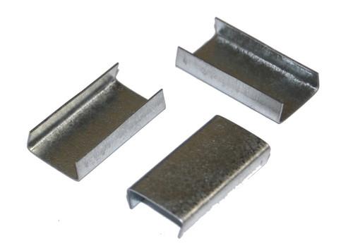 "1/2"" Snap-On Open Standard Duty Steel Strapping Seals"