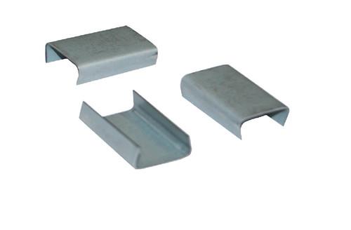 "5/8"" Snap-On Open Standard Duty Steel Strapping Seals"