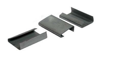 "1 1/4"" Snap-On Open Heavy Duty Steel Strapping Seals"