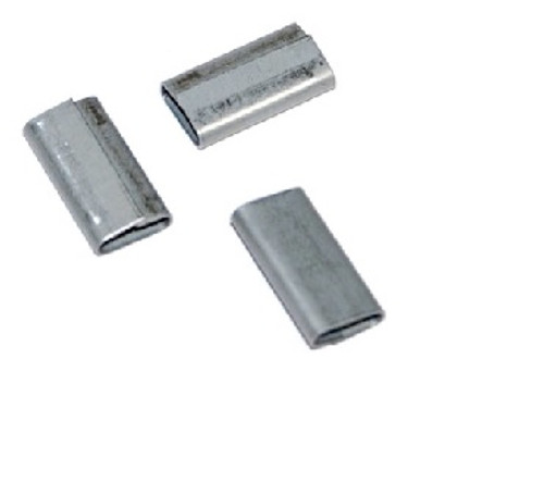 """3/8"""" Push-On Standard Duty Steel Strapping Seals"""