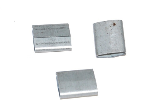 """1/2"""" Push-On Standard Duty Steel Strapping Seals"""