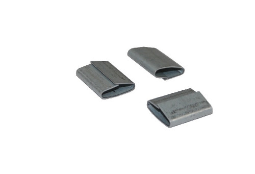"""5/8"""" Push-On Standard Duty Steel Strapping Seals"""