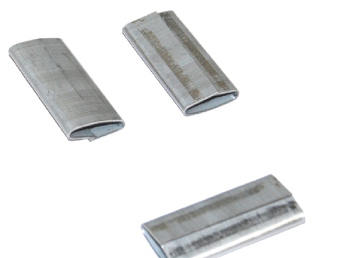 """3/4"""" Push-On Heavy Duty Steel Strapping Seals"""