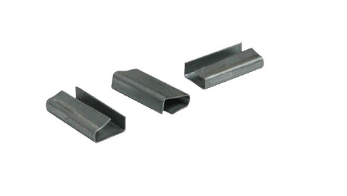 """1/2"""" Metal Snap-On Semi-Open Polypropylene Strapping Seals"""