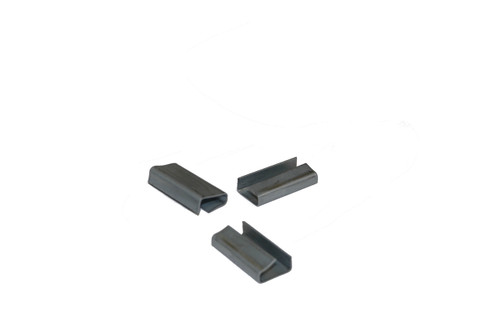 """5/8"""" Metal Snap-On Semi-Open Polypropylene Strapping Seals"""