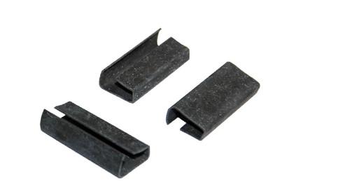 "1/2"" Metal Serratable Polypropylene Strapping Seals 1,000 / Case"
