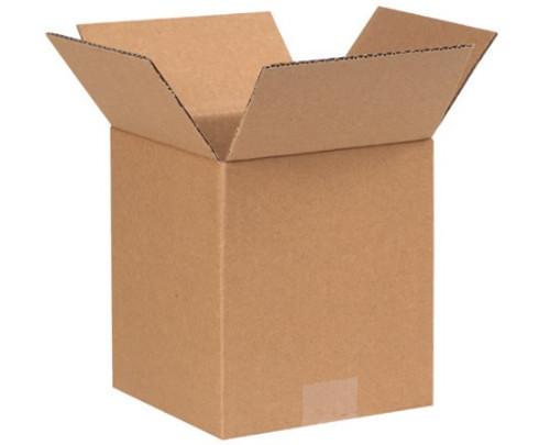 "4"" x 4"" x 5"" (ECT-32) Kraft Corrugated Cardboard Shipping Boxes"
