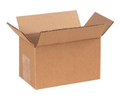 "6"" x 3"" x 3"" (200#/ECT-32) Kraft Corrugated Cardboard Shipping Boxes"