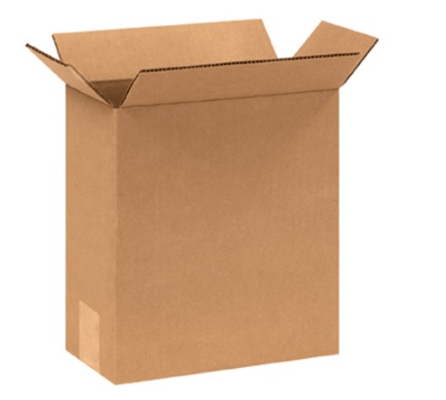 "6"" x 4"" x 8"" (ECT-32) Kraft Corrugated Cardboard Shipping Boxes"