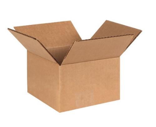 "5"" x 5"" x 3"" (ECT-32) Kraft Corrugated Cardboard Shipping Boxes"