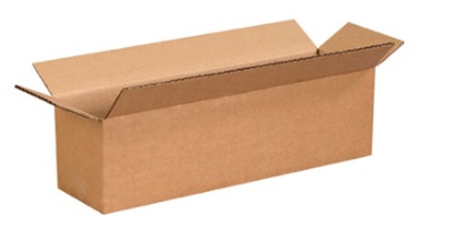 "13"" x 3"" x 3"" (ECT-32) Long Kraft Corrugated Cardboard Shipping Boxes"