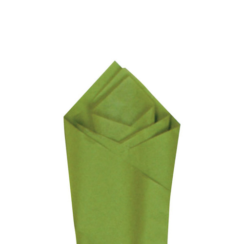 Aloe Green Color Wrapping and Tissue Paper, Quire Folded