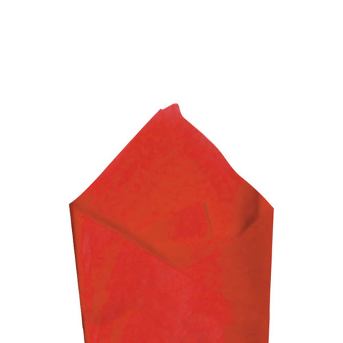 Cherry Red Color Wrapping and Tissue Paper, Quire Folded