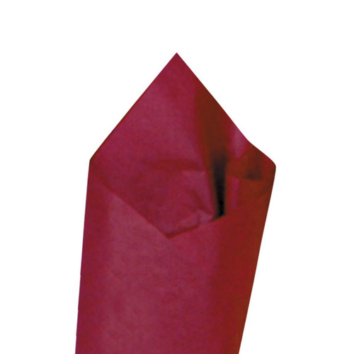Claret (Dark Red/Maroon) Color Wrapping and Tissue Paper, Quire Folded