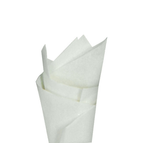 French Vanilla (White) Color Wrapping and Tissue Paper, Quire Folded