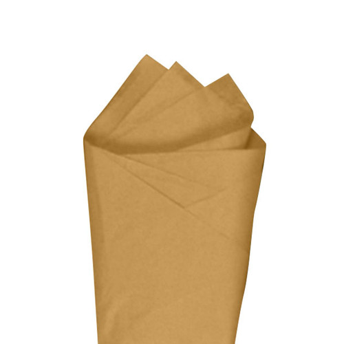 Harvest Gold Color Wrapping and Tissue Paper, Quire Folded