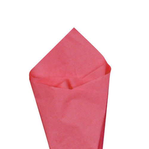 Island Pink Color Wrapping and Tissue Paper, Quire Folded
