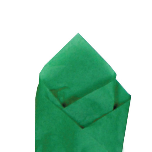 Kelly Green Color Wrapping and Tissue Paper, Quire Folded