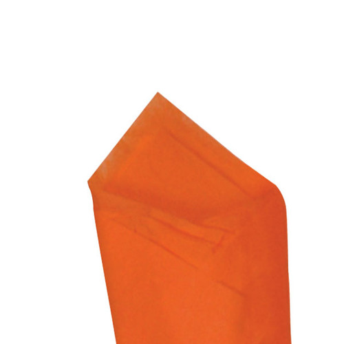 Orange Color Wrapping and Tissue Paper, Quire Folded