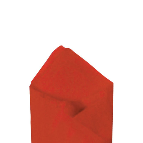 Scarlet (Red) Color Wrapping and Tissue Paper, Quire Folded
