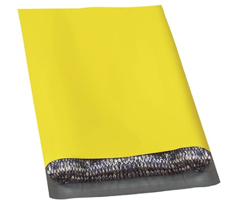 """12"""" x 15 1/2"""" Yellow Peel and Seal Poly Shipping Bags Mailers"""