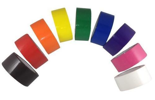 "4 Rolls / Case 3"" x 1000 Yards Machine Length 2 Mil Color Carton Sealing Tape"
