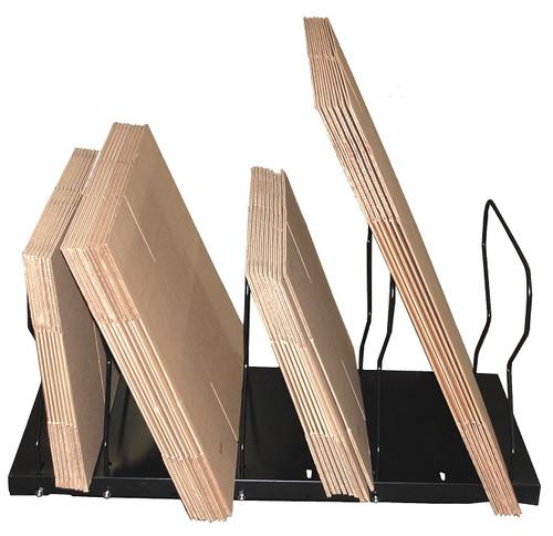 Box Carton Stand for box storage, box organization, with rubber feet