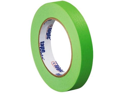 "1/2"" Light Green Colored Masking Tape - Tape Logic™"