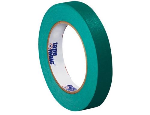 "1/2"" Dark Green Colored Masking Tape - Tape Logic™"