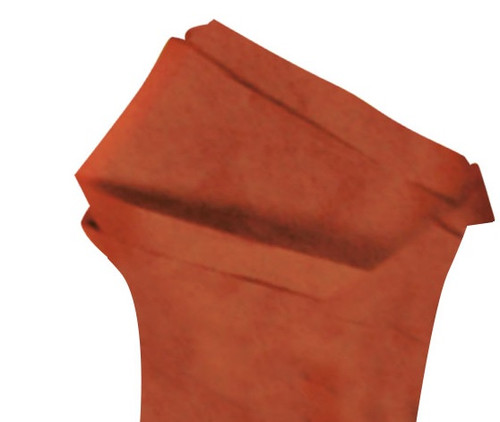 Burnt Orange Color Wrapping and Tissue Paper, Quire Folded
