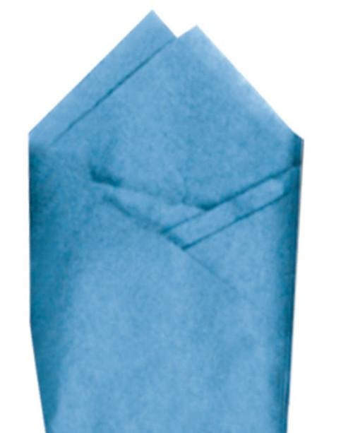 Cornflower Color Wrapping and Tissue Paper, Quire Folded