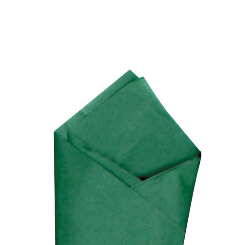 Holiday Green Color Wrapping and Tissue Paper, Quire Folded