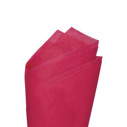 Honeysuckle (Pink) Color Wrapping and Tissue Paper, Quire Folded