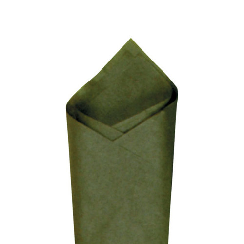 Olive (Green) Color Wrapping and Tissue Paper, Quire Folded