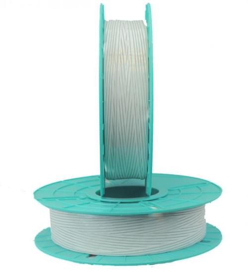 Paper/Plastic White Twist Tie Ribbon for Semi-Automatic Twist Tie Machine
