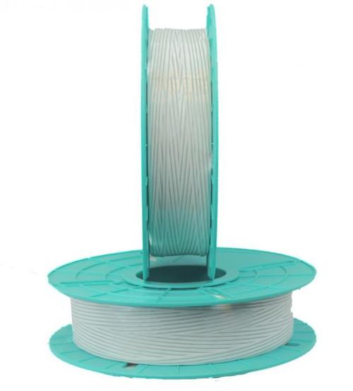 Non-Metallic Plastic/Paper White Twist Tie Ribbon for Semi-Automatic Twist Tie Machine