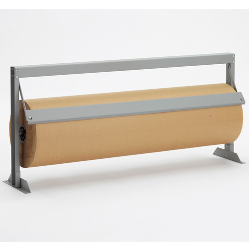 Table Top Mountable film, foil, cello, VCI paper, Dispenser Cutter with Serrated Blade (Shown with Straight Edge)