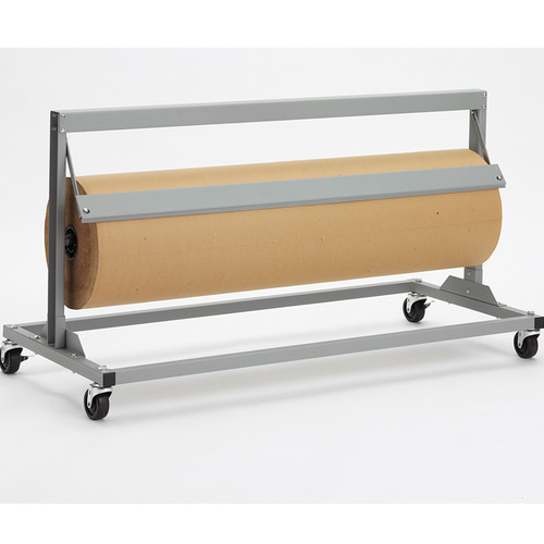 Mobile film, foil, cello, VCI paper, Dispenser Cutter with Serrated Blade (Shown with Straight Edge)