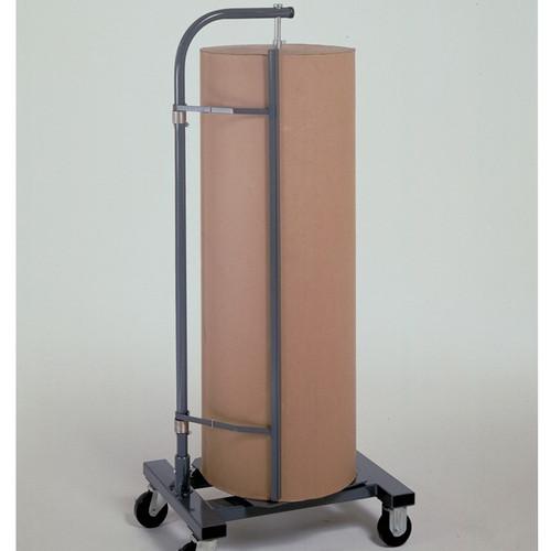 Jumbo Vertical Paper Roll Rack Storage Dispenser and Cutter