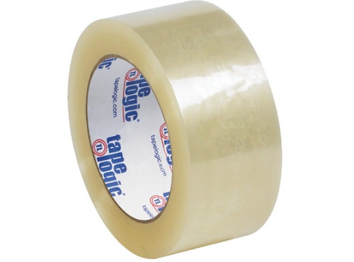 """Whisper Smooth Quiet 2.6 mil Clear Acrylic Carton Sealing Tape 3"""" x 110 yards"""