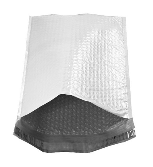 """Size #000 4""""x7"""" Poly Bubble Mailer with Peel-N-Seal"""