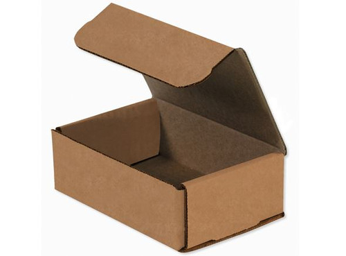 "6 1/2"" x 4 1/2"" x 2 1/2"" (200#/ECT-32-B) Kraft Corrugated Cardboard Mailers"