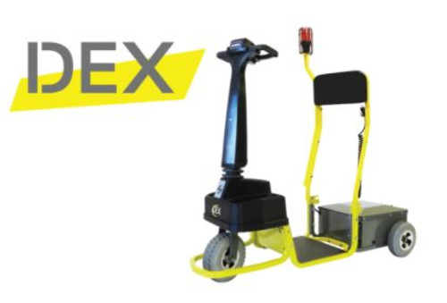 Amigo Dex Powered Personnel Mover -Transportation-Standing-Warehouse (STROBE LIGHT SOLD SEPARATELY)