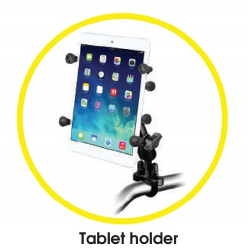 Tablet Holder for Amigo Mobility Powered Warehouse Carts