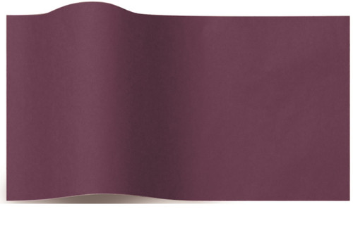 Eggplant Color Wrapping and Tissue Paper, Quire Folded