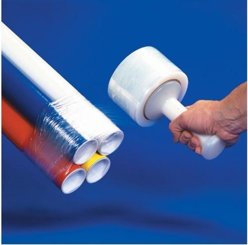 """3"""" Clear Stretch Wrap Bundling Plastic Film"""